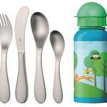 WMF Knuddel Kinderbesteck-Set mit Trinkflasche für nur 9€ (statt 16€)