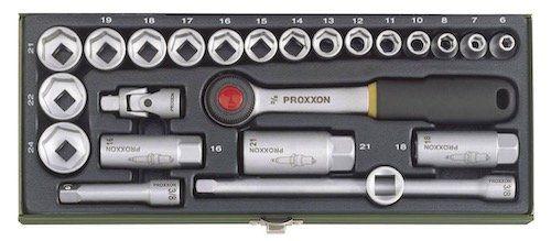 Proxxon 23110 Steckschlüsselsatz 24 teilig für 26,99€ (statt 38€)