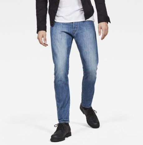 G Star RAW Herren 3301 Deconstructed Tapered Denim Jeans für 54,97€