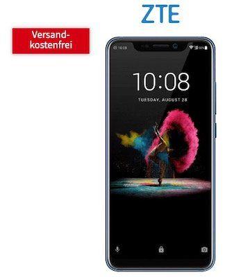 ZTE Axon 9 Pro für 29€ + o2 Allnet Flat mit 3GB LTE für 14,99€ mtl.