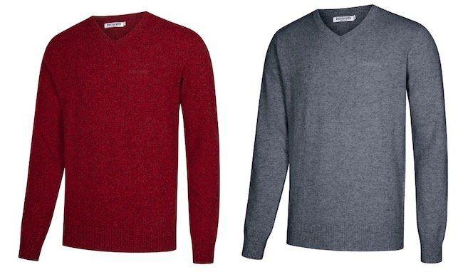 Lambretta Lambswool Herren Sweater aus Lammwolle für 22,93€ (statt 32€)