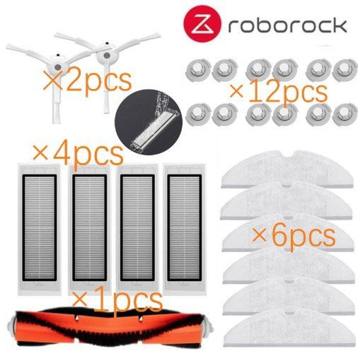 Xiaomi Roborock Ersatzteile 25 teilig für nur 15,73€