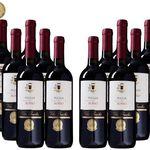 12 Flaschen Villa Gracchio Rosso für 45€ – goldprämierter Rotwein aus 2017