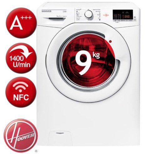 Hoover 1492D3 S Waschmaschine mit 9kg für 299,90€ (statt 458€)