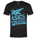 Asics Athletics Graphic Tee Herren T-Shirt für 11,72€ (statt 17€) oder 2 Stück für 19,99€ (statt 34€)