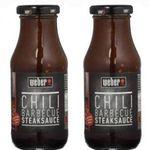6er Pack Weber Chili Barbecue Steaksauce für 7,77€ (statt 20€) – MHD 20.04.2019