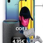 Huawei P smart 2019 + Echo Plus oder Playstation Classic für 4,95€  + Vodafone Flat von otelo mit 4GB für 19,99€ mtl.