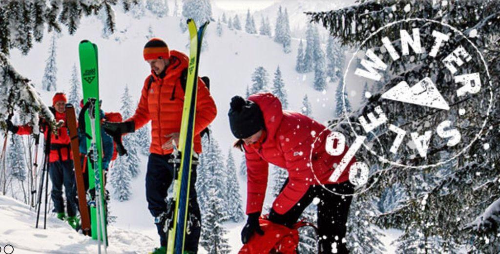 Bergfreunde Winter Sale mit bis  60% + 10% Extra Rabatt   z.B. MIZU M4 Trinkflasche für 9,41€(statt 18€)