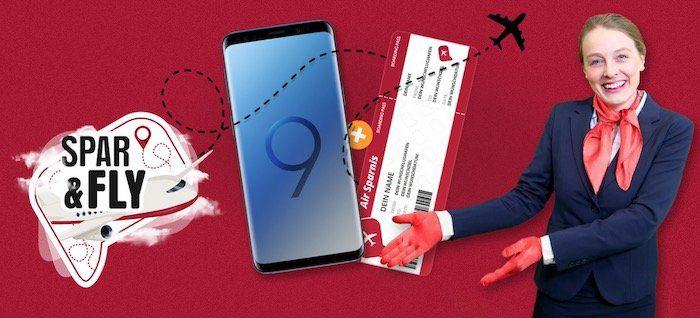 Samsung Galaxy S9 ? + o2 Free M Allnet Flat mit 10GB LTE für 29,99€ + Gratis Flug innerhalb Europas