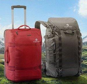 eagle creek Reisetaschen und  rucksäcke bei vente privee   z.B. No Matter What Flatbed Duffel Reisetasche für 59,99€ (statt 85€)