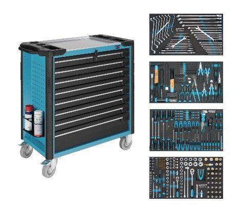 Hazet 179XL 8 Werkstattwagen mit 317 Werkzeugen für 2.969,10€ (statt 3.162€)