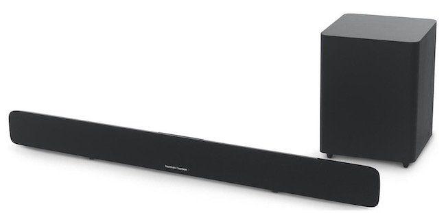Harman Kardon SB20   2.1 Soundbar mit kabellosem Subwoofer für 305,94€ (statt 370€)