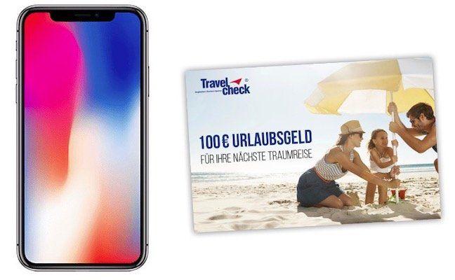 Junge Leute: iPhone X für 99€ + 100€ Reisegutschein gratis dazu + Vodafone Allnet Flat mit 17GB LTE für 41,99€ mtl.