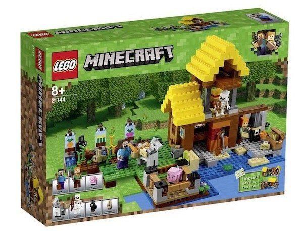 Ausverkauft! Lego Minecraft   Farmhäuschen (21144) für 39,83€ (statt 75€)