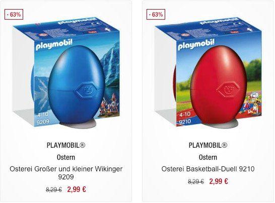 Playmobil Ostereier gefüllt mit Spielzeug ab 2,99€ (statt 5,49€)