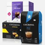 368 Cafe Royal Kapseln (für Dolce Gusto) für 52,30€ + 2 gratis Gläser – nur 0,14€ pro Portion!