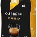 1kg Paket Café Royal Espresso Bohnen nur 6,59€ (statt 15€) inkl. VSK als Primer