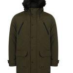 Tokyo Laundry Lenart Fur Trim Hooded Parka für 28,94€ (statt 38€)