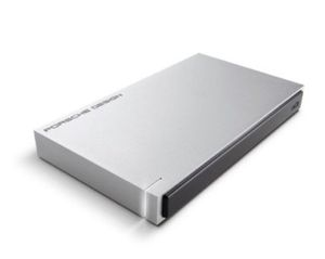 LaCie Porsche Design Mobile 2TB externe Festplatte mit USB C für 66,66€ (statt 84€)