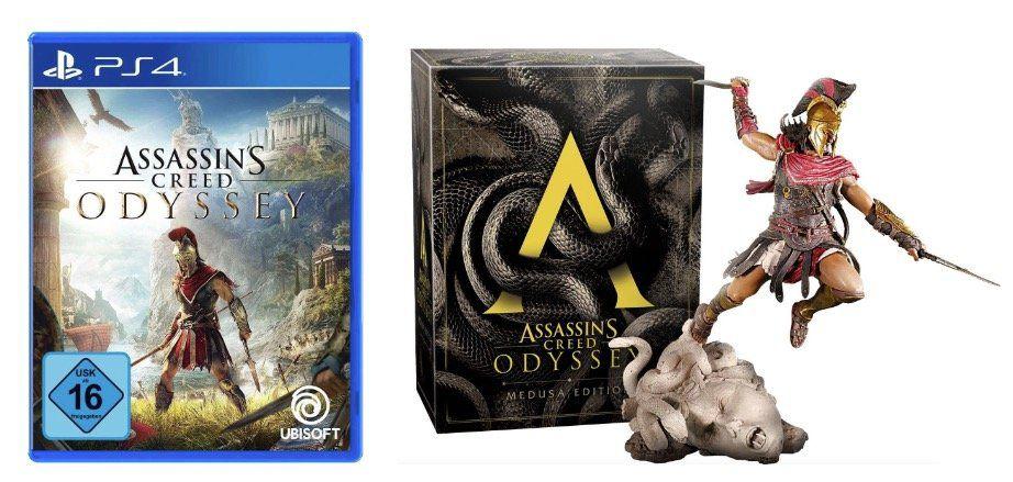 Assassins Creed Odyssey Medusa Edition (PS4) für 75,94€(statt 108€)