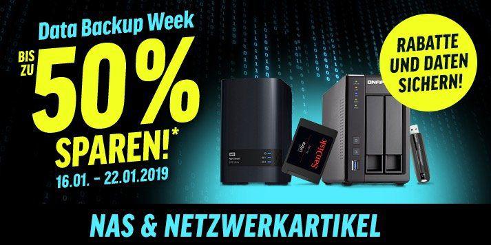 Data Backup Week bei Notebooksbilliger bis Mitternacht   z.B. SanDisk Ultra 3D SSD 500GB für 70,21€ (statt 78€)