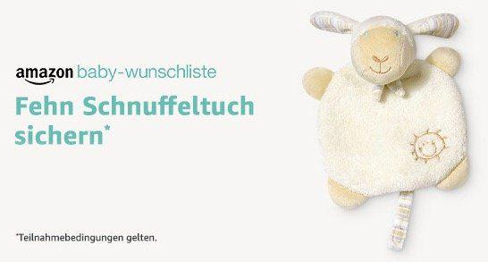 Gratis Fehn Schnuffeltuch bei Bestellungen über die Amazon Baby Wunschliste (Wert 13€)