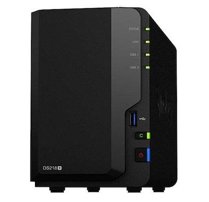 Synology DiskStation DS218+ 8TB Bundle (2 x 4 TB WD Red) für 487,05€ (statt 537€)