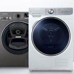 Samsung Wäschegeräte mit bis zu 200€ Sofort-Rabatt bei AO – z.B. Samsung WD72J5A00AW Waschtrockner für 499€ (statt 550€)