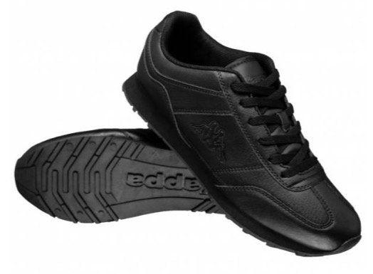 Kappa Zione Herren Sneaker in Schwarz für 20,11€ (statt 28€)   nur 42, 43 und 45