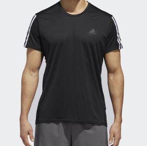 adidas Performance Running 3 Streifen T Shirt für 12,47€ (statt 18€)   XS bis XL