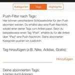 INFO: Push tags & Kategorien überarbeitet – Wir brauchen eure Hilfe!