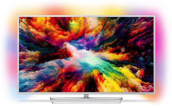Philips 55PUS7363   55 Zoll UHD Fernseher mit 3 seitigem Ambilight für 666€ (statt 839€)