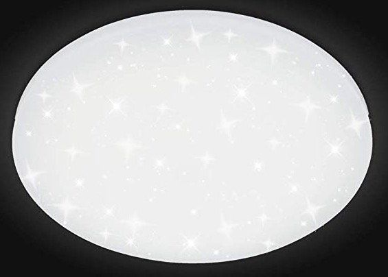 12W LED Deckenleuchte mit Sternenlicht Effekt (rund, kaltweiß) für 11,89€ (statt 17€)