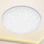 12W LED Deckenleuchte mit Sternenlicht-Effekt (rund, kaltweiß) für 11,89€ (statt 17€)