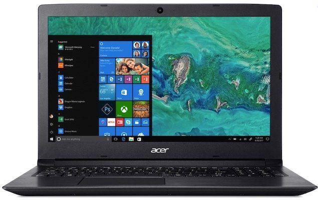 Acer Aspire A315 53 32CK   15,6 Zoll Notebook mit 256GB SSD für 399€ (statt 464€)