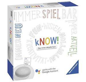 Ravensburger kNOW! Gesellschaftsspiel + Google Home Mini ab 29€ (statt 45€)