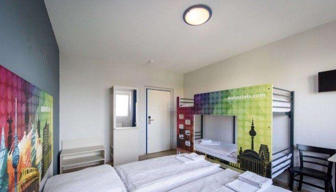 1 ÜN für 2 Erwachsene (bis 2 Kinder frei) in einem von 17 A&O Hostels ab 33,15€   Frühstück optional