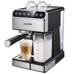 Aicook Espressomaschine mit Touch-Digital-Bildschirm für 96,43€ (statt 150€)