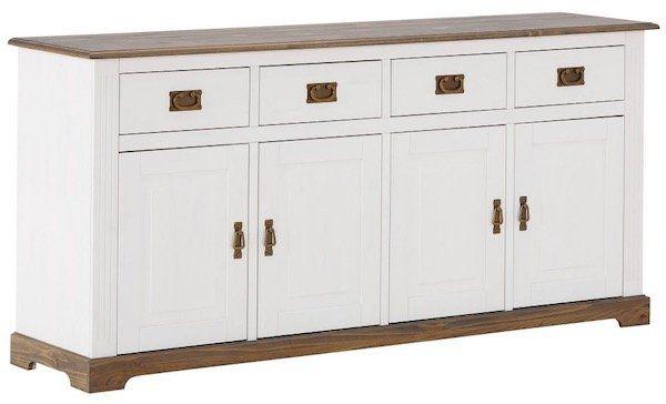 Sideboard im Landhausstil mit 4 Türen und 4 Schubladen für 284,95€ (statt 355€)