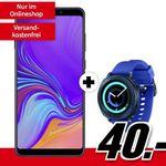 Samsung Galaxy A9 + Gear Sport Smartwatch für 40€ + Vodafone Allnet-Flat mit 1GB für 21,99€