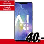 Huawei Mate 20 Pro für 40€ + Vodafone Allnet-Flat mit 8GB für 31,99€ mtl.