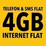 Vodafone Allnet-Flat von otelo mit 4GB LTE für effektiv 10,99€mtl.