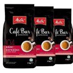 3kg Melitta Cafe Bar Kaffeebohnen inkl. 150g belgische Trüffelschokolade für 29,42€