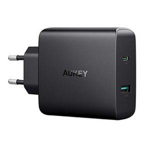 Aukey Ladegerät mit USB und USB C Port für 22,99€ (statt 40€)