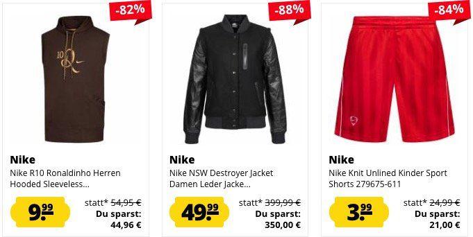 Nur heute! SportSpar mit 10% auf ALLES von Nike   z.B. Atletico Madrid Handtuch für 11,14€ (statt 17€)
