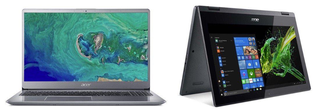 Acer WSV bei Notebooksbilliger   z.B. Acer Swift 3 mit i5 + 256GB für 636,65€ (statt 780€)