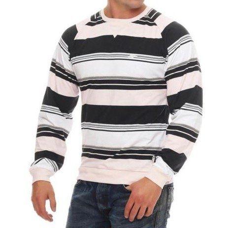 Nike Fusion Yarn Dyed Striped Crew Neck Longsleeve für 12,95€