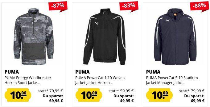Knaller! SportSpar Jacken Sale ab nur 10€ je Jacke zzgl. Versand   ab 50€ Newslettergutschein möglich