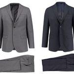 """Engelhorn Herren Anzug """"Ticket"""" in mehreren Farben für 74,80€"""