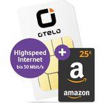 Vodafone Allnet-Flat von otelo mit 4GB LTE für effektiv 11,49€mtl. + 25€ Amazon Gutschein